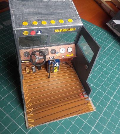 pulpit w kabinie