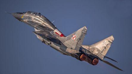 MiG-29UB nr. 15 - 23BLT - 2012 rok.