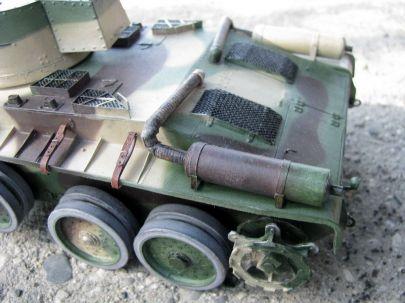 Polski  czołg szybki 10TP. Wersja kołowa