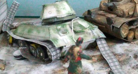 Rozbity T-34