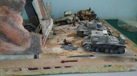 Panzer 3 ausf G , Sturminfanterie geschutze 33 , stug 3 ausf F oraz t-34