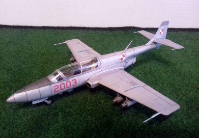 PZL TS-11 ,,Iskra'' - 41 Eskadra Lotnictwa Taktycznego - Malbork, Polska - marzec 2007 r.