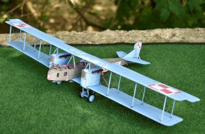 Gotha G. IV - 21 Eskadra Niszczycielska. Rachny Lesowyja, Galicja - maj 1920 r.