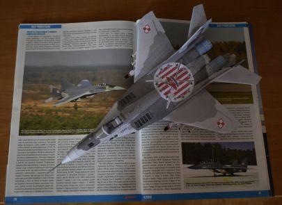 MiG-29G ,,Fulcrum-A'' - 23 Baza Lotnictwa Taktycznego - Mińsk Mazowiecki, Polska - kwiecień 2018 r.