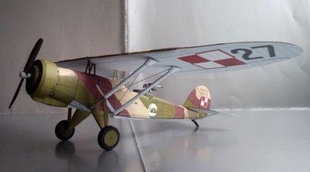 Lublin R-XIIID - 13 Eskadra Obserwacyjna - Warszawa - Okęcie, Polska - wrzesień 1939 r.