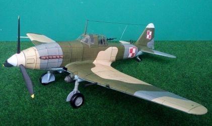 Iljuszyn Ił-10 ,,Beast'' - 4 Pułk Lotnictwa Szturmowego. Bydgoszcz, Polska - czerwiec 1950 r.