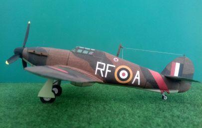 Hawker ,,Hurricane'' Mk. I - 303 Dywizjon Myśliwski ,,Warszawski'' - Northolt, Wlk. Brytania - wrzesień 1940 r.