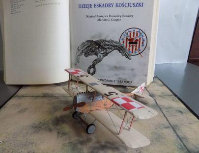 Ansaldo A.1 ,,Balilla'' - 7 Eskadra Myśliwska - Hołoby, Galicja - lipiec 1920 r.