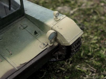 Polski ciągnik gąsienicowy C7P