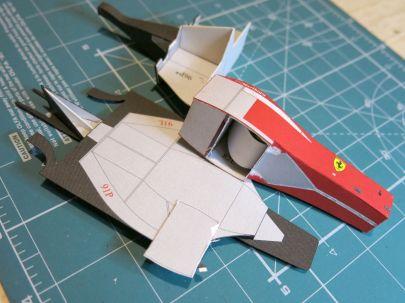 Ferrari F2001 by dzeja