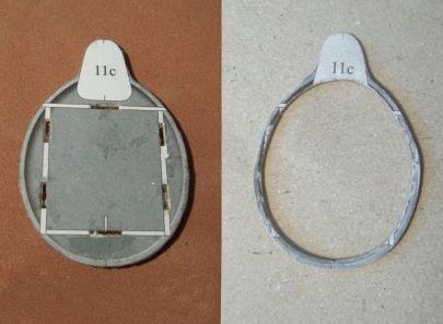 tylna wręga przed i po usunięciu środka