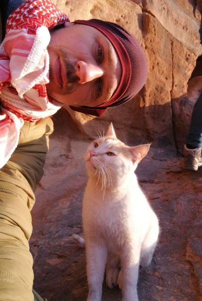 Selfi z Kotem