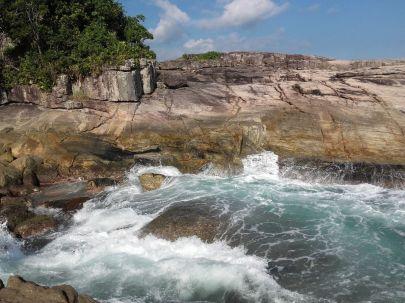 Camburizinio - skalna zatoka